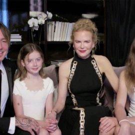 Golden Globes 2021: Οικογενειακή υπόθεση η φετινή τελετή - Η Nicole εμφανίστηκε μαζί με τον άντρα και τις κόρες της (φωτό & βίντεο) - Κυρίως Φωτογραφία - Gallery - Video