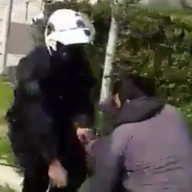 Αυτό είναι το βίντεο με το πρωτοφανές επεισόδιο ξυλοδαρμού κατοίκου της Νέας Σμύρνης, από αστυνομικούς - Παρέμβαση της Εισαγγελίας  - Κυρίως Φωτογραφία - Gallery - Video