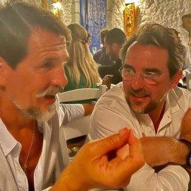 Πρίγκιπες Παύλος & Νικόλαος μαζί σε σπάνιο κλικ από την Μαρί Σαντάλ - το πάρτι για τα γενέθλια της Ολυμπίας στις Σπέτσες (φωτό) - Κυρίως Φωτογραφία - Gallery - Video