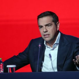 Τσίπρας στη ΔΕΘ: «Αν τολμά ο κ. Μητσοτάκης ας προκηρύξει εκλογές - Απευθύνω έκκληση για εμβολιασμό σε όλους» (βίντεο) - Κυρίως Φωτογραφία - Gallery - Video