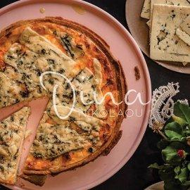 Η Ντίνα Νικολάου προτείνει: Τάρτα με δύο πατάτες και μπλε τυρί Δανίας - είναι χορταστική και πεντανόστιμη - Κυρίως Φωτογραφία - Gallery - Video