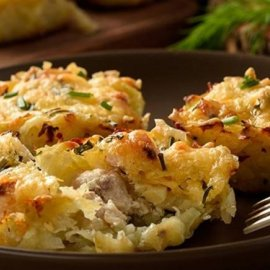 Λαχταριστά μάφινς πατάτας με στήθος κοτόπουλου από τον Δημήτρη Σκαρμούτσο - ότι πρέπει για απογευματινό σνακ - Κυρίως Φωτογραφία - Gallery - Video
