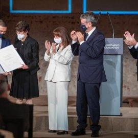 Ίδρυμα Θεοφανώ: Επίκεντρο της Ευρώπης η Θεσσαλονίκη με την βράβευση των επιστημόνων που έφτιαξαν το εμβόλιο κατά του covid (φωτό) - Κυρίως Φωτογραφία - Gallery - Video
