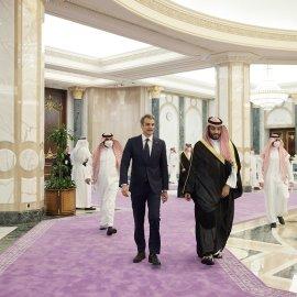 Ελλάδα - Σαουδική Αραβία: Το κοινό ανακοινωθέν ύστερα από την επίσκεψη του Πρωθυπουργού - Τι αναφέρει για τις σχέσεις των δύο χωρών  - Κυρίως Φωτογραφία - Gallery - Video