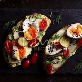 Ντίνα Νικολάου: Ταρτίνες με κρέμα αβοκάντο, ωμά λαχανικά & αυγό - ένα ελαφρύ πρωινό που θα σας γεμίσει ενέργεια - Κυρίως Φωτογραφία - Gallery - Video