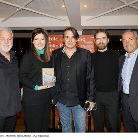 Ο Σπύρος Πετρουλάκης παρουσίασε τον ''Σασμό'' του: Ο Δημήτρης Λάλος - ''Μαθιός'', ο  Γιάννης Κότσιρας & η Ειρήνη Νικολοπούλου μίλησαν για το βιβλίο & ο λυράρης έπαιζε μουσική (φωτό) - Κυρίως Φωτογραφία - Gallery - Video