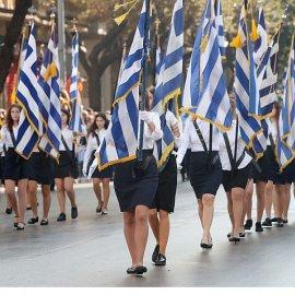Στρατιωτική παρέλαση στη Θεσσαλονίκη ενώπιον της Προέδρου της Δημοκρατίας - Μαθητική στην Αθήνα (βίντεο) - Κυρίως Φωτογραφία - Gallery - Video